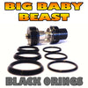 "BIG Baby - TFV8 ""BLACK"" Color Orings Seals Gaskets ( 3x Pair )"