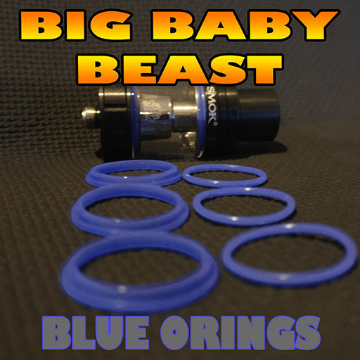 BLUE ORINGS BIG Baby Beast TFV8 O-Rings