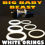 WHITE ORINGS BIG Baby Beast TFV8 O-Rings