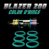 BLAZER 200 - SENSE CYAN COLOR O'RINGS by Inked ATTY