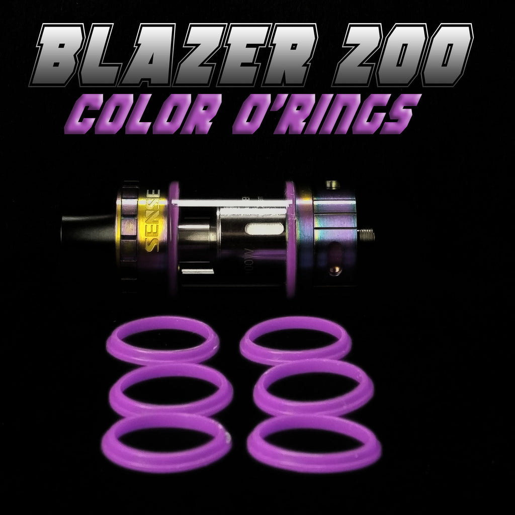 BLAZER 200 - SENSE PURPLE COLOR O'RINGS by Inked ATTY