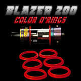 BLAZER 200 - SENSE RED COLOR O'RINGS by Inked ATTY