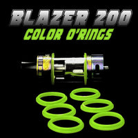 BLAZER 200 - SENSE GREEN COLOR O'RINGS by Inked ATTY