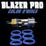 "Blazer PRO ""Sense"" - ""BLUE"" Color Orings Seals Gaskets ( 3x Pair ) by Inked ATTY"