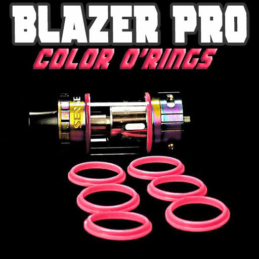 "Blazer PRO ""Sense"" - ""PINK"" Color Orings Seals Gaskets ( 3x Pair ) by Inked ATTY"