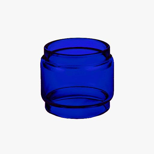 BLOTTO RTA- BLUE - Color Tinted Pyrex - Extended Bubble Glass Replacement Pyrex - 6ML
