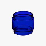 ALPHA TANK - BLUE - Color Tinted Pyrex - Extended Bubble Glass Replacement Pyrex - 4ML