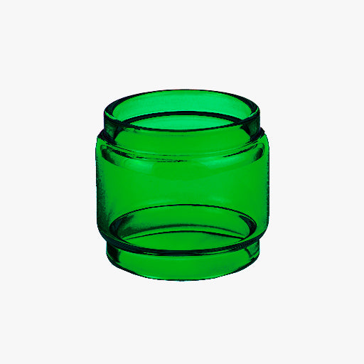 Fireluke MESH - Freemax - GREEN - Color Tinted Pyrex - Extended Bubble Glass Replacement Pyrex - 7ML