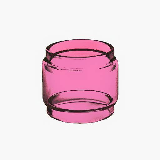 Zeus X - PINK - Color Tinted - Extended Bubble Glass Replacement Pyrex - 5ML