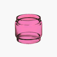 Nunchaku - PINK - Color Tinted - Extended Bubble Glass Replacement Pyrex - 5.5ML