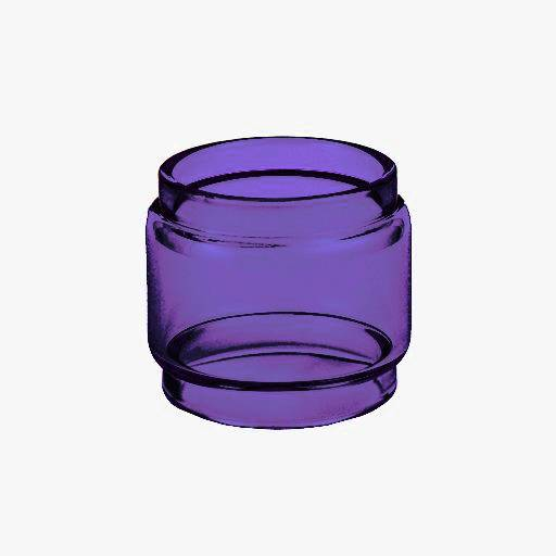 Resin Falcon  - PURPLE - Color Tinted Pyrex - Extended Bubble Glass Replacement Pyrex - 7ML