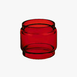 "TFV9 ""SMOK"" - RED - Color Tinted - Extended Bubble Glass Replacement Pyrex - 6.5ML"