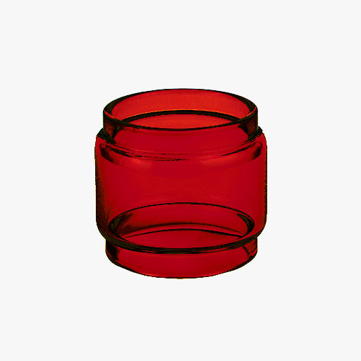 ALPHA TANK - RED - Color Tinted Pyrex - Extended Bubble Glass Replacement Pyrex - 4ML
