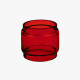 Serpent SMM - RED - Color Tinted Pyrex - Extended Bubble Glass Replacement Pyrex - 6ML