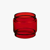 BABY V2 - TFV8 - RED - Color Tinted Pyrex - Extended Bubble Glass Replacement Pyrex - 5ML
