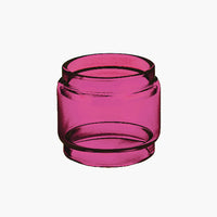 TFV8 - Baby Beast - PINK - Color Tinted Pyrex - Extended Bubble Glass Replacement Pyrex - 5ML