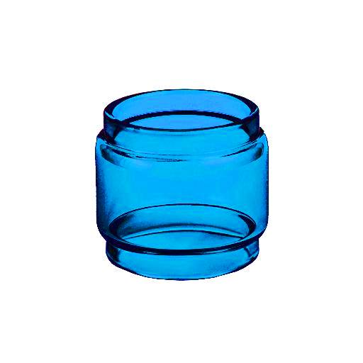 BLOTTO RTA- SAPPHIRE - Color Tinted Pyrex - Extended Bubble Glass Replacement Pyrex - 6ML