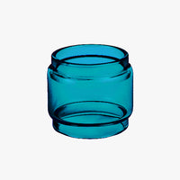 TF2019 - SAPPHIRE - Color Tinted Pyrex - Extended Bubble Glass Replacement Pyrex - 6ML