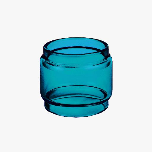 TFV12 - Baby Prince - SAPPHIRE - Color Tinted Pyrex - Extended Bubble Glass Replacement Pyrex - 5ML