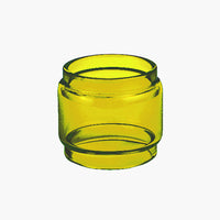TF2019 - YELLOW - Color Tinted Pyrex - Extended Bubble Glass Replacement Pyrex - 6ML