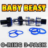 BLUE ORINGS Baby Beast TFV8 O-Rings fits Alien Kit