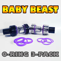 PURPLE ORINGS Baby Beast TFV8 O-Rings fits Alien Kit