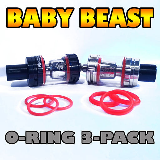 RED ORINGS Baby Beast TFV8 O-Rings fits Alien Kit