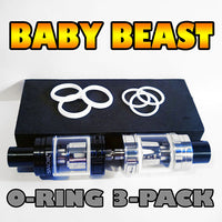 WHITE ORINGS Baby Beast TFV8 O-Rings fits Alien Kit