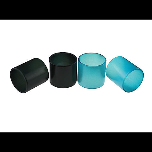 "SMOK - Spirals Tank - ""Black to Turquoise"" Color Change Pyrex Replacement Glass by Inked ATTY"