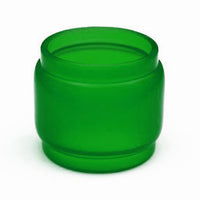 TFV12 - Prince - GREEN - Color Resin Tinted Pyrex - Extended Bubble Glass Replacement Pyrex - 8ML