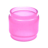 TFV12 - Prince - PINK - Color Resin Tinted Pyrex - Extended Bubble Glass Replacement Pyrex - 8ML