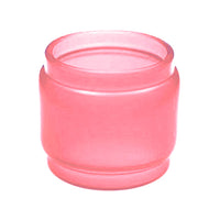 TFV12 - Prince - ROSE RED - Color Resin Tinted Pyrex - Extended Bubble Glass Replacement Pyrex - 8ML