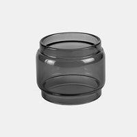 Cleito 120 - Black Color Tinted Pyrex - Extended Bubble Glass Replacement Pyrex