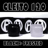 Cleito 120 - 5ML Extended - Black to Frosted Color Change Pyrex Replacement Glass