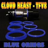 BLUE ORINGS CLOUD Beast TFV8 O-Rings