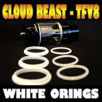WHITE ORINGS CLOUD Beast TFV8 O-Rings