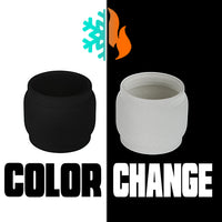 Scion 2- Color Change Extended Bubble Glass Replacement Pyrex - 6.5ML