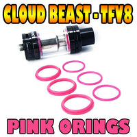 PINK Cloud Beast - TFV8 ORINGS CUSTOM O-RINGS