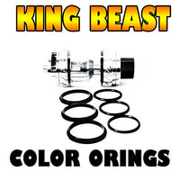 The Cloud Beast KING - TFV12 BLACK ORINGS ( 3x Pair ) SMOK by Inked ATTY