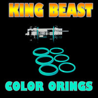 The Cloud Beast KING - TFV12 CYAN ORINGS ( 3x Pair ) SMOK by Inked ATTY