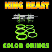 The Cloud Beast KING - TFV12  GREEN ORINGS ( 3x Pair ) SMOK by Inked ATTY