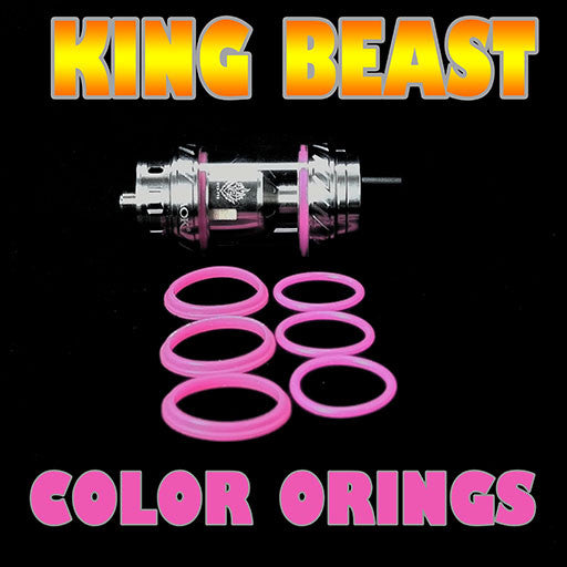 The Cloud Beast KING - TFV12 PINK ORINGS ( 3x Pair ) SMOK by Inked ATTY
