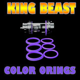 The Cloud Beast KING - TFV12 PURPLE ORINGS ( 3x Pair ) SMOK by Inked ATTY