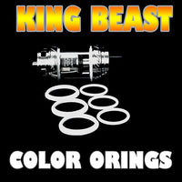The Cloud Beast KING - TFV12 WHITE ORINGS ( 3x Pair ) SMOK by Inked ATTY