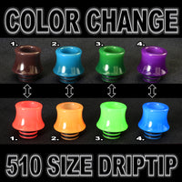 Color Change ( 510 Size Drip Tip )