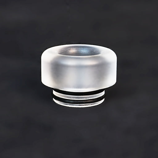 "Frosted Resin - Translucent - Drip Tip - Mouth Piece - Heat Resistant - ( 810 Size  ) ""12.5mm Socket"""