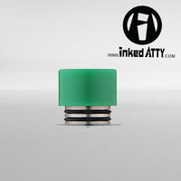 ( 810 Size  ) GREEN - TFV12 King Beast - TFV8 Cloud Beast - TFV8 Big Baby Beast - Wide Bore - Delrin Drip Tip - Heat Resistant