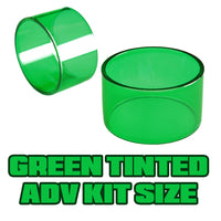 Green Tinted Quartz - Replacement Glass - ADV Expansion Kit Size (17)
