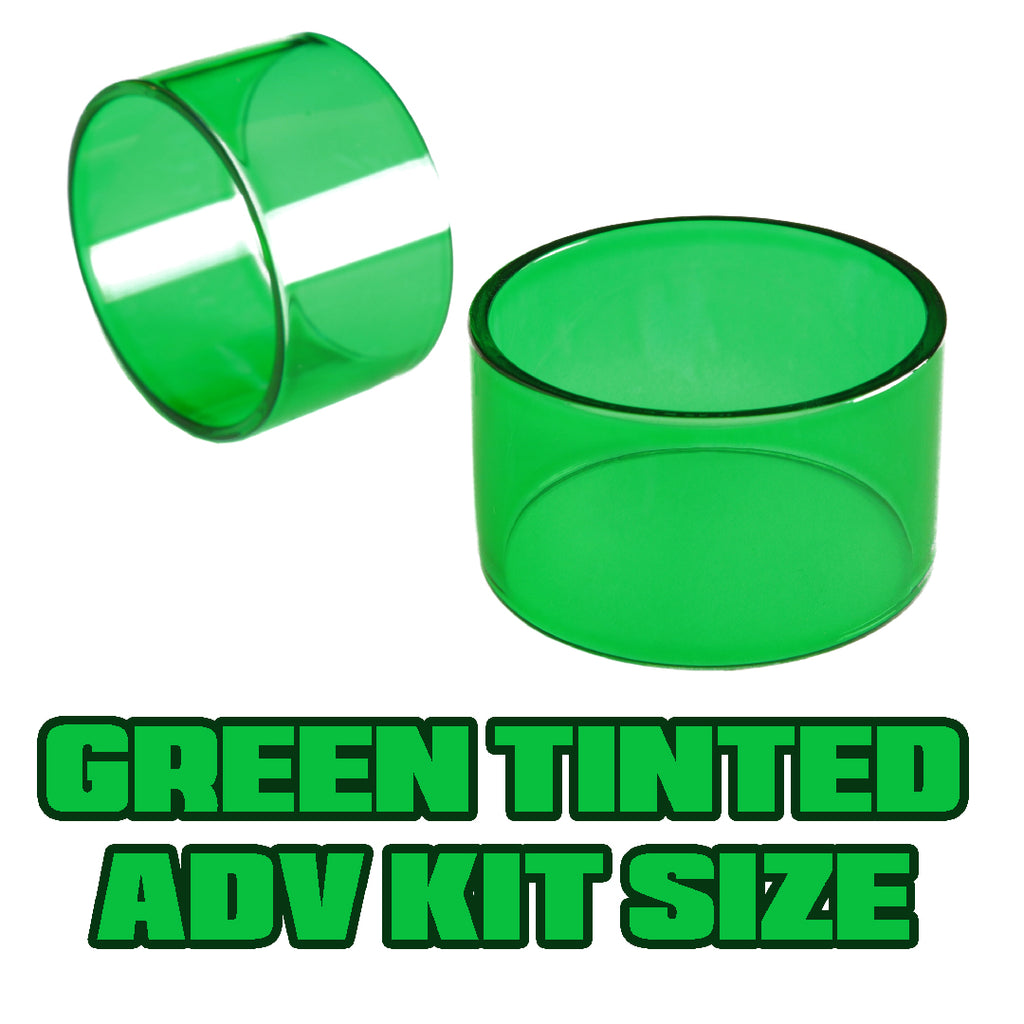 Green Tinted Quartz - Replacement Glass - ADV Expansion Kit Size (20)