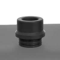 GREY - Delrin Drip Tip - Mouth Piece - Heat Resistant - ( 810 Size  )